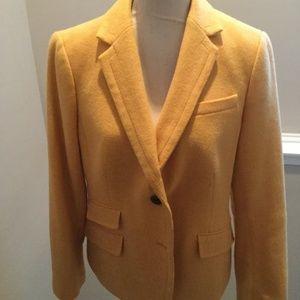 Talbots Bright golden jacket